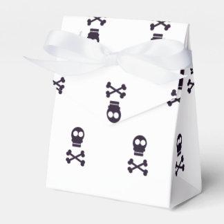 Skull crossbones pattern Halloween Party Favour Box