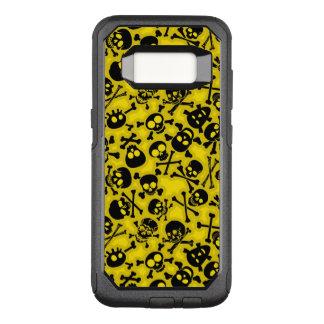 Skull & Crossbones Pattern OtterBox Commuter Samsung Galaxy S8 Case