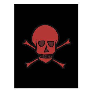 Skull & Crossbones Postcard