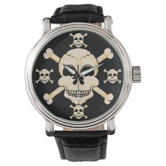 Skull & Crossbones Wrist Watch