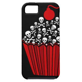 Skull Cupcake Tough iPhone 5 Case