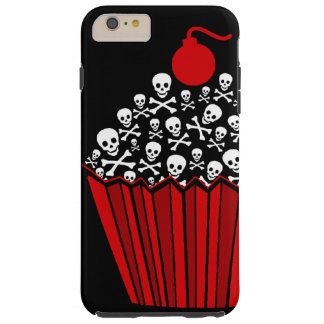 Skull Cupcake Tough iPhone 6 Plus Case