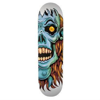 skull dark elf with no brain 21.3 cm mini skateboard deck
