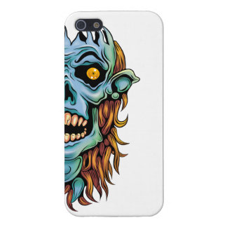 skull dark elf with no brain case for the iPhone 5
