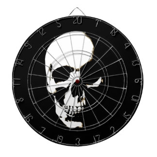Skull Dartboard With Darts