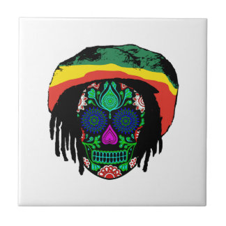Skull Daze Ceramic Tile