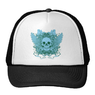 Skull ~ Deadly Sin Fantasy Evil Art Mesh Hats