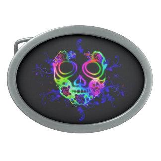 Skull design belt buckles
