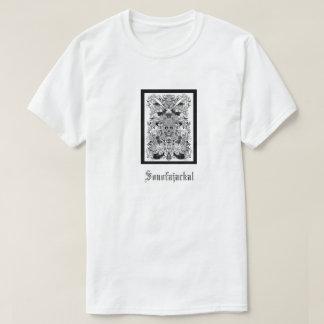 Skull design black and white T-Shirt