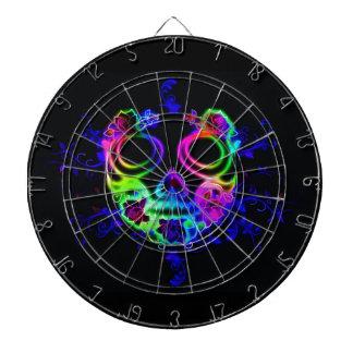 Skull design dartboard