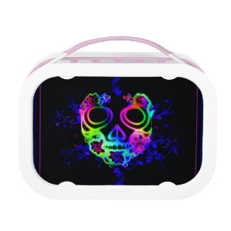 Skull design lunchbox