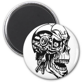 Skull Design Merchandise Fridge Magnet
