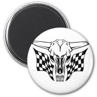 Skull Design Merchandise Fridge Magnets