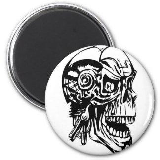 Skull Design Merchandise Fridge Magnet