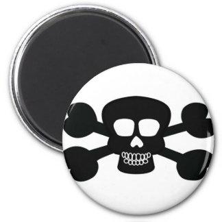 Skull Design Merchandise Refrigerator Magnets