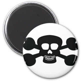 Skull Design Merchandise Refrigerator Magnets