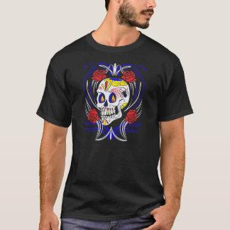 Skull Dia De Los Muertos Counter Culture T-Shirt