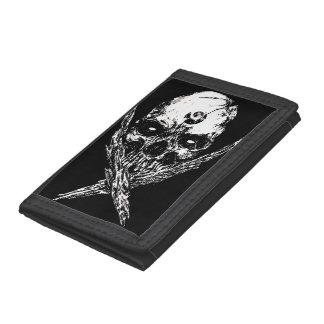 Skull Diabolus Tri-fold Wallets