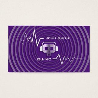 Skull DJ Music Business Card