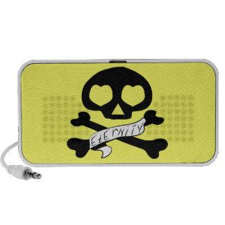 Skull Doodle iPod Speaker