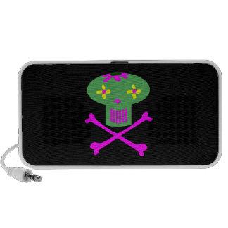 Skull Doodle Mp3 Speaker