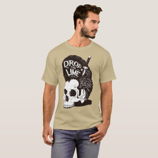 Skull Drop the Lime T-Shirt