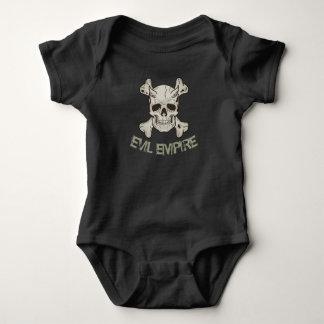 Skull Evil Empire Baby Bodysuit