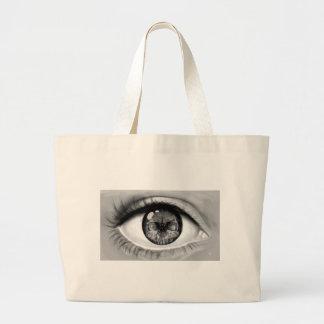 Skull eye double vision bags