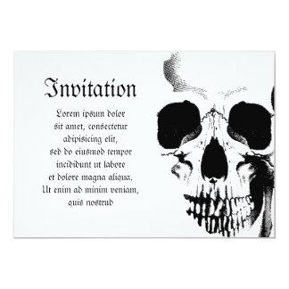 Skull Face Card
