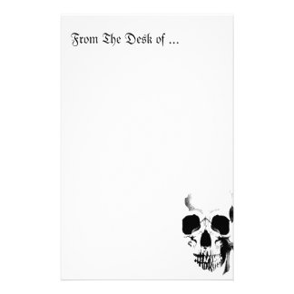 Skull Face Stationery