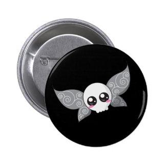 Skull Fairy - Grey Pin