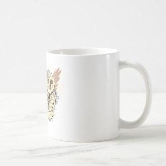 Skull ~ Feed The Beast Fantasy Art Coffee Mugs