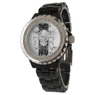 Skull & Filigree Black Watch