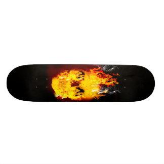 SKULL FIRE 21.6 CM SKATEBOARD DECK
