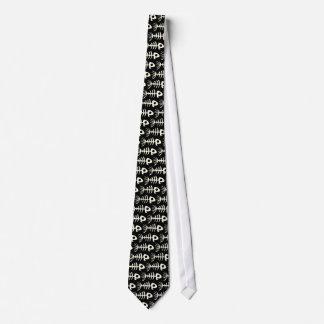 Skull Fish Tie