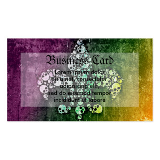 Skull Fleur De Lis Pack Of Standard Business Cards