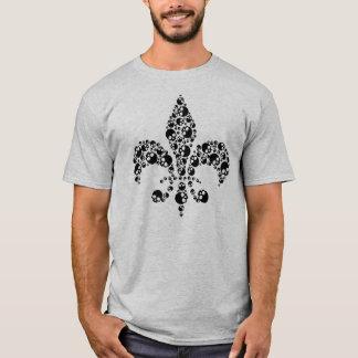 Skull Fleur De Lis T-Shirt