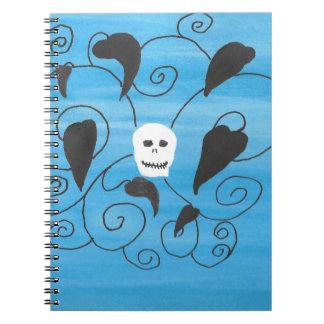 Skull Flourish Notebook
