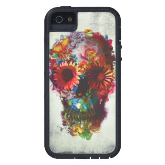 Skull Flower case Xtreme iPhone 5/5s protection Cover For iPhone 5