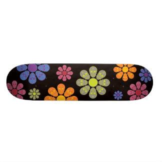 SKULL FLOWERS PRO BOARD CUSTOM SKATEBOARD
