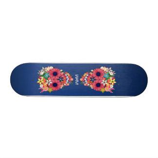 Skull Flowers Skateboards