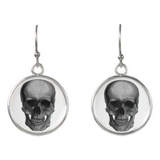 Skull For Horror Fans and Goths Earrings