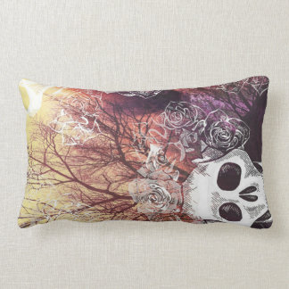 Skull Forest Lumbar Cushion