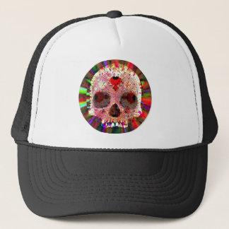 Skull Fractal Trucker Hat