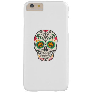 Skull Funny Basketball Gift Kids Boys and Girls Barely There iPhone 6 Plus Case