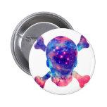 Skull Galaxy Pin