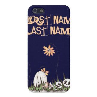 Skull Garden Cases For iPhone 5