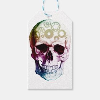 skull gift tags