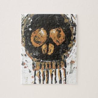 Skull Gold Mine Jigsaw Puzzle