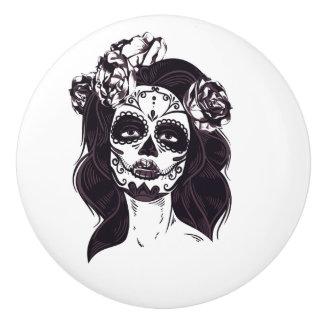 Skull Gothic Ceramic Knob